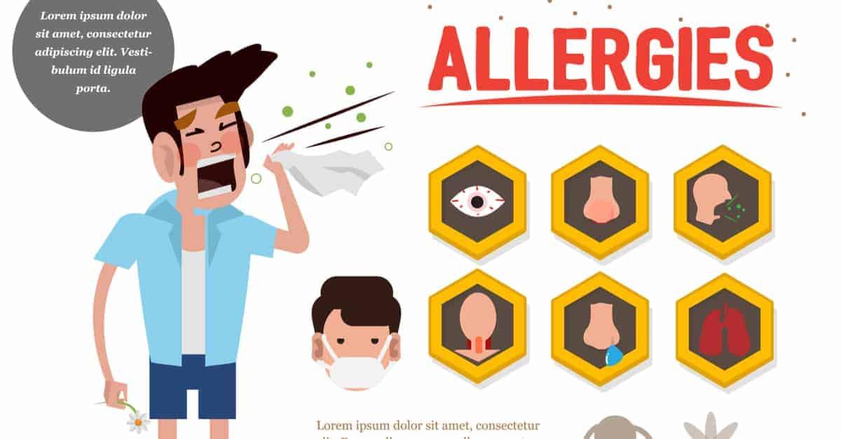 Kedi alerjisi semptomları